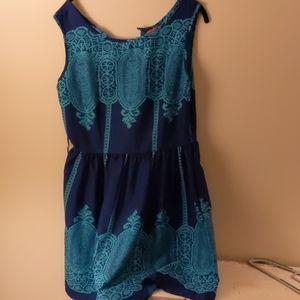 Blue summery dress